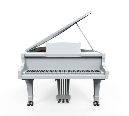 Grand Piano Isolated photo