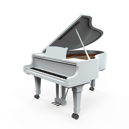 single songs: Grand Piano Isolated