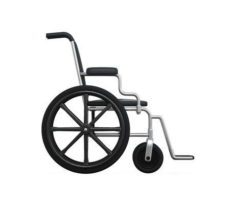 personal injury: Wheelchair Isolated