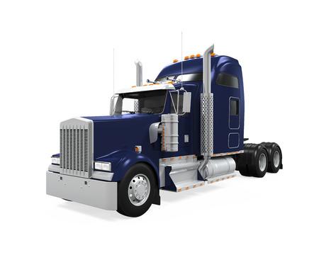 remolque: Camión de carga Aislado