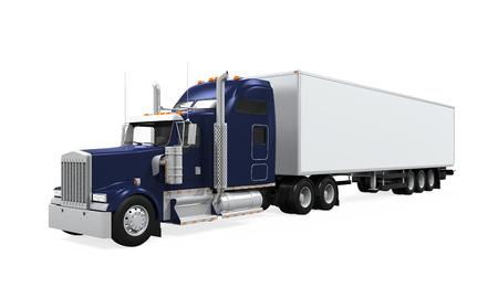cargo truck: Cargo Truck Isolated