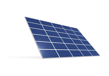 Solar Panel Isolated photo