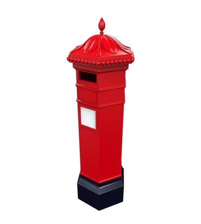 Victorian Post Box photo