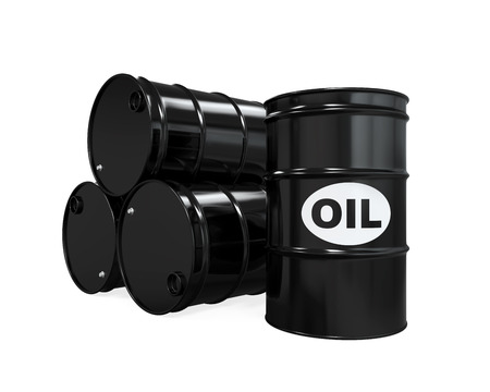 barell: Oil Barrels Isolated