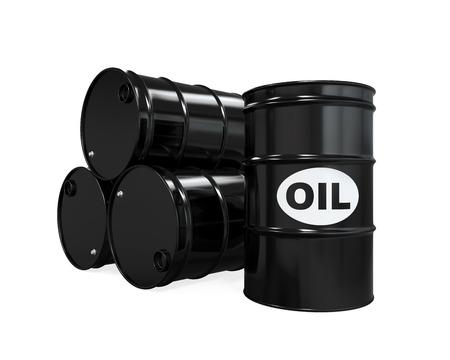 barel: Oil Barrels Isolated