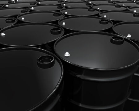gasoil: Oil Barrels Isolated