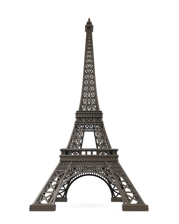 Eiffel Tower Isolated photo
