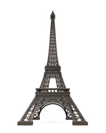 eifel: Eiffel Tower Isolated