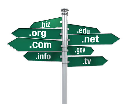 Sign Directions of Domain Names photo