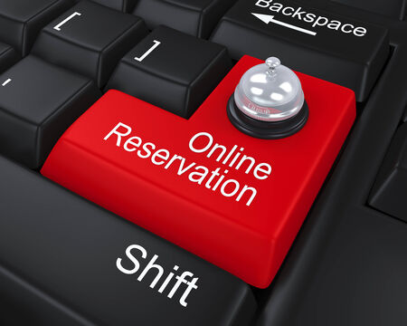 Online Reservation Enter Key photo