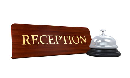 Reception Bell and Reception Plate photo