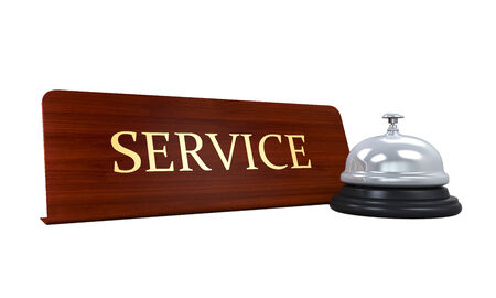 Reception Bell and Service Plate photo