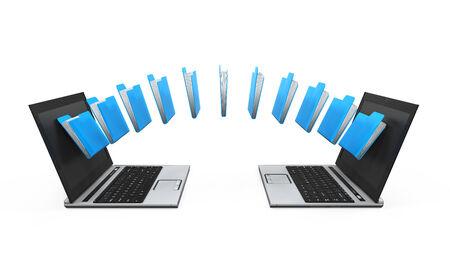transferring: Laptop Data Transferring