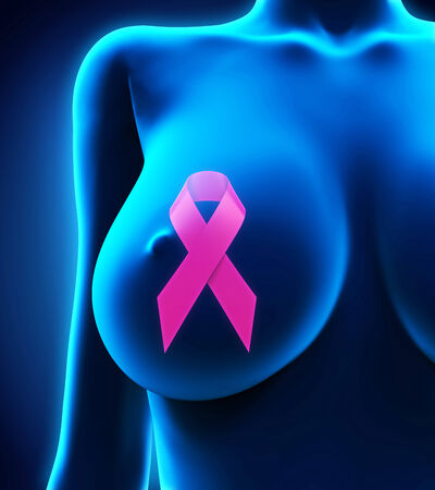 Breast Cancer Ribbon Symbol photo