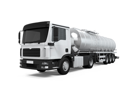 De combustible de camiones cisterna Foto de archivo - 30519210