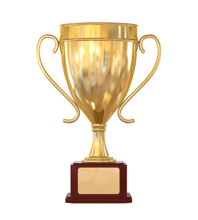 sports trophy: Gold Trophy Cup