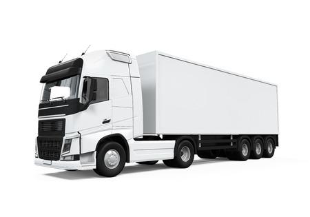 Cargo Delivery Truck Archivio Fotografico