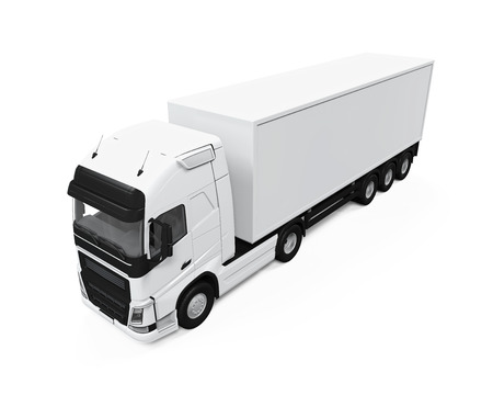 Cargo Delivery Truck photo