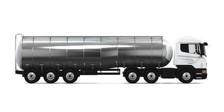 De combustible de camiones cisterna Foto de archivo