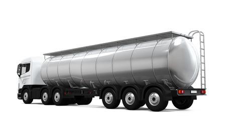 Kraftstoff-Tanker-LKW Standard-Bild - 31433102