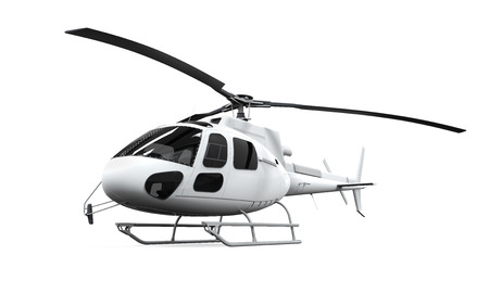 fuselage: Helicopter Isolated