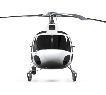 Helicopter Isolated photo