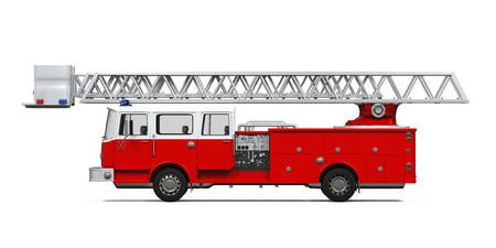 fire hose: Fire Rescue Truck