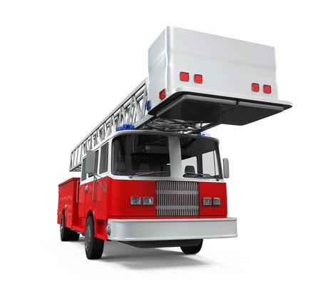 fire truck: Fire Rescue Truck