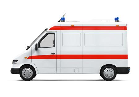 Ambulance auto Stockfoto