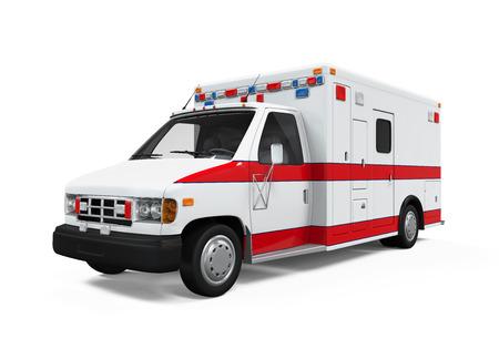 ambulancia: Ambulancia del coche Foto de archivo