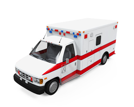emergency response: Ambulance Car
