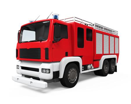 Feuer-Rettungs-LKW