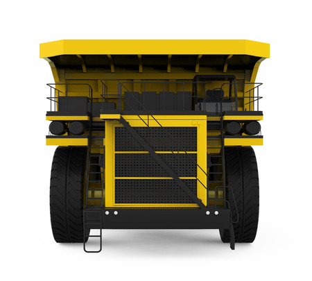 Yellow Mining Truck photo