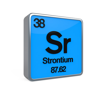 strontium: Strontium Element Periodic Table