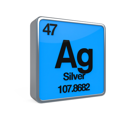 noble gas: Silver Element Periodic Table