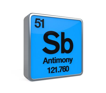 antimony: Antimony Element Periodic Table
