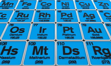 noble gas: Periodic Table of the Elements