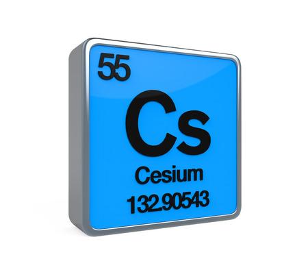 periodic element: Cesium Element Periodic Table