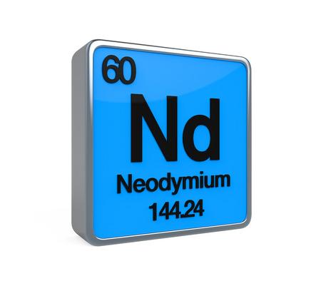 isotope: Neodymium Element Periodic Table