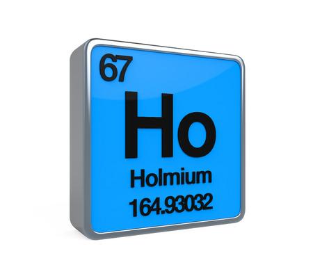 Holmium Element Periodic Table photo