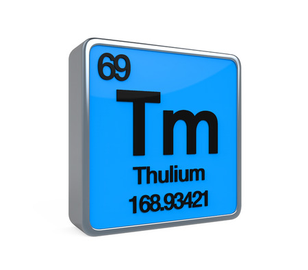 lanthanide: Thulium Element Periodic Table
