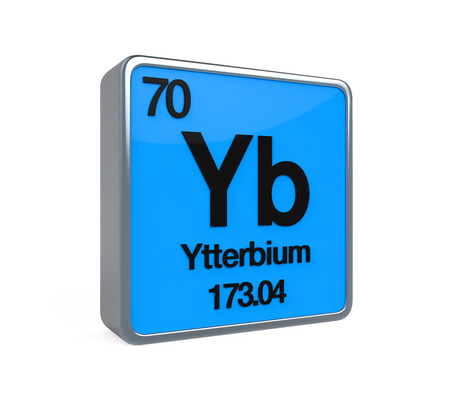 isotope: Ytterbium Element Periodic Table