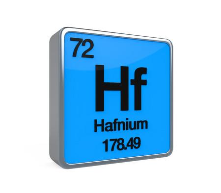 isotope: Hafnium Element Periodic Table