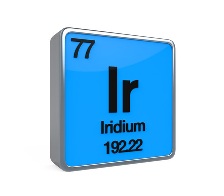 isotope: Iridium Element Periodic Table
