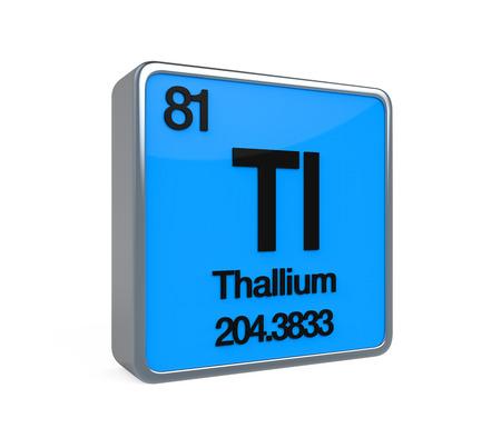isotope: Thallium Element Periodic Table