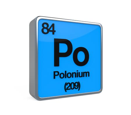 Polonium Element Periodic Table
