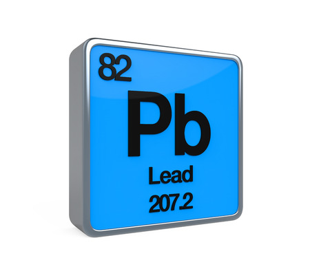 color chart: Lead Element Periodic Table
