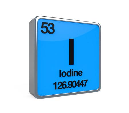 noble gas: Iodine Element Periodic Table