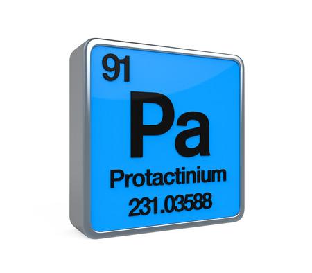 noble gas: Protactinium Element Periodic Table