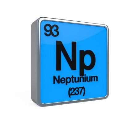 noble gas: Neptunium Element Periodic Table